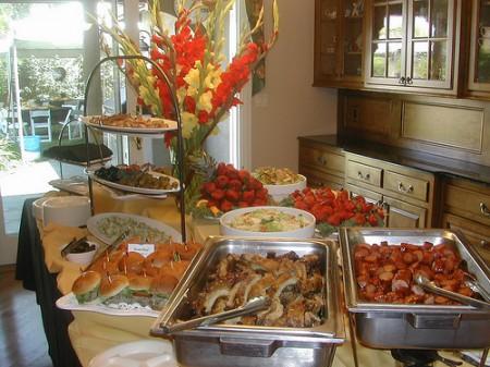 preparare un buffet