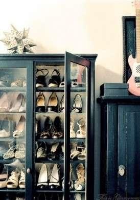 Le scarpe sono la vostra passione? Ecco delle idee per fare ordine in modo originale! [FOTO]