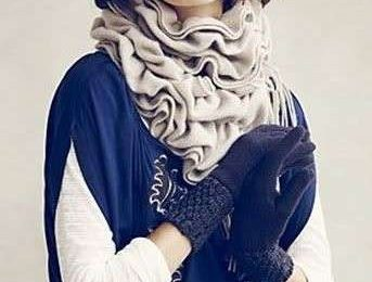 Le sciarpe di lana più glamour per farsi avvolgere dal freddo [FOTO]
