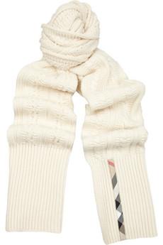 sciarpe lana di burberry