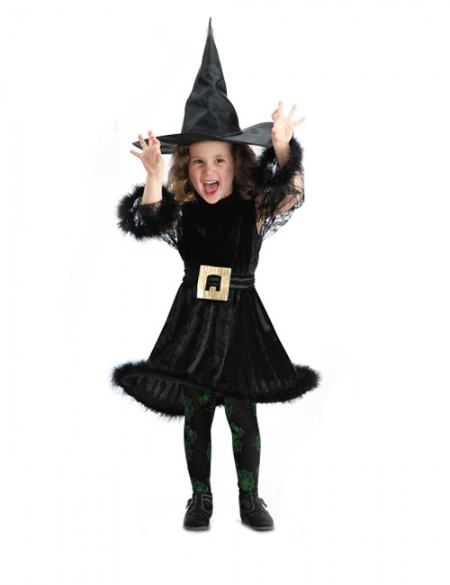 Vestiti Halloween Strega.Costumi Di Halloween Fai Da Te Da Strega Per Bambine Pourfemme