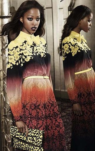 topshop abito glam inverno 2012