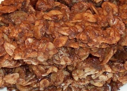 La buonissima e sfiziosa ricetta light della torta di fiocchi d'avena