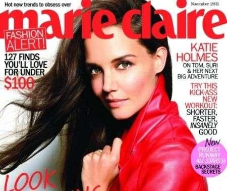 Katie Holmes splendida sulla cover di Marie Claire, ecco un make up easy chic tutto da copiare!