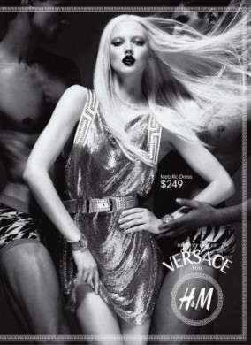 Ancora foto di Versace for H&M, lookbook, advertising e prezzi