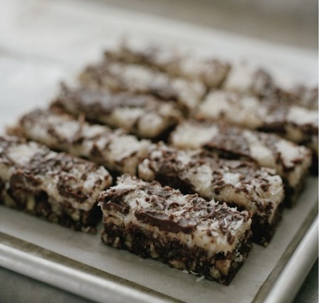 Brownies cocco ricetta