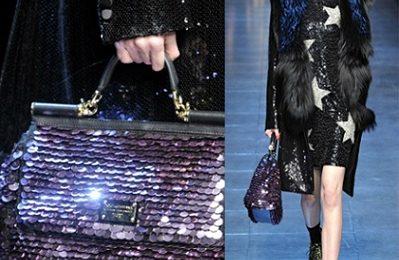 La borsa Miss Sicily di Dolce & Gabbana si veste di glitter e paillettes, vi piace?