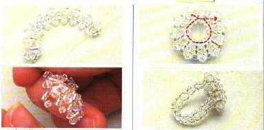 Schemi anello bijoux cristallo