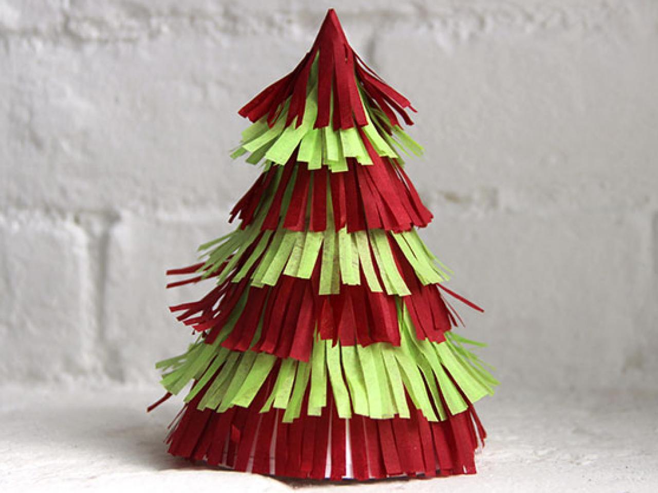 albero natalizio faidate carta