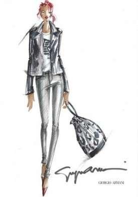 Rihanna a lavoro per la Capsule Collection per Armani, le foto