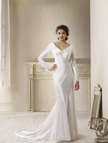 La replica dell'abito da sposa di Bella