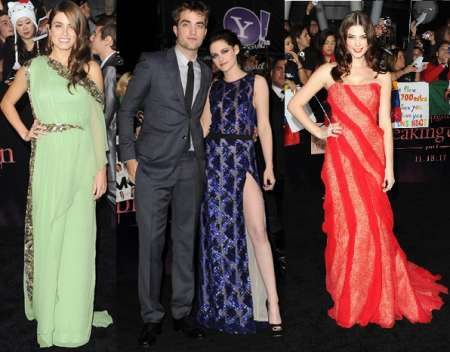 "Kristen Stewart, Nikki Reed e Ashley Greene, i look delle donne di ""The Twilight Saga: Breaking Dawn – Parte 1"""