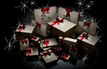 Burberry Natale 2011 regali