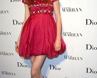 Coco Rocha sceglie un look Christian Dior firmato John Galliano