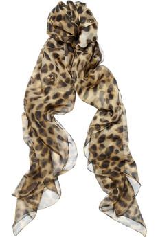 foulard mcqueen animalier