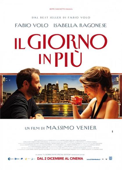Il giorno in più, il romanzo di Fabio Volo al cinema, dal 2 dicembre 2011