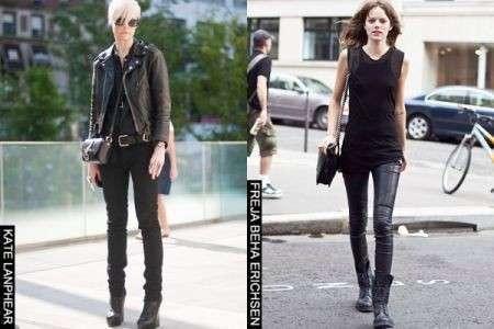 Le star adorano il look in total black, chi lo porta meglio?
