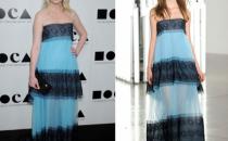 Kirsten Dunst sceglie i colori del mare di Rodarte