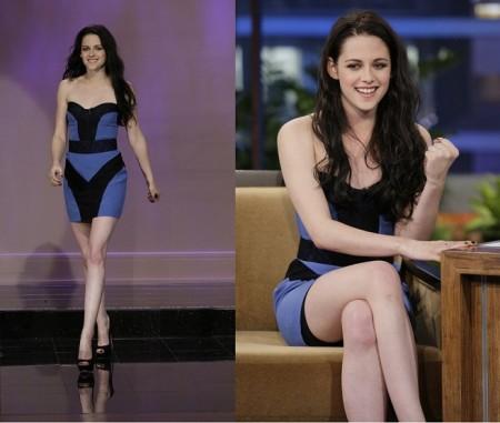 Kristen Stewart con un bellissimo abito Monique Lhuillier