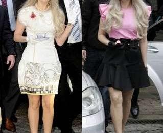 I nuovi look di Lady Gaga firmati YSL, Aquilano.Rimondi e Moschino