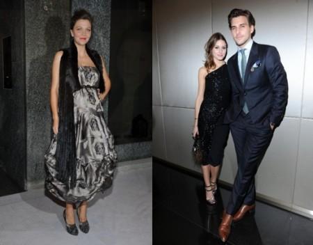 E' Giorgio Armani mania per Olivia Palermo e Maggie Gyllenhaal