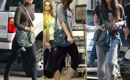 Megan Fox pazza per la Alexander Wang Donna Hobo