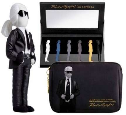 Per Natale 2011 Karl Lagerfeld lancia una linea trucco da non perdere
