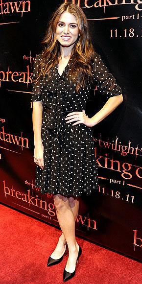Nikki Reed veste Dolce & Gabbana alla premiere di Breaking Dawn a San Francisco