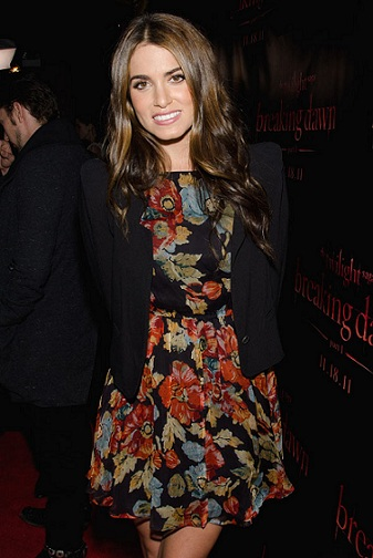 Nikki Reed in Topshop