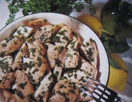pollo freddo al tartufo