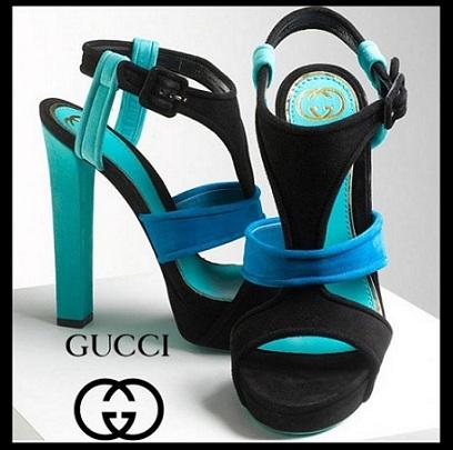 I sandali Gucci incontrano il color block, ecco le Andie Chunky Platform Sandal