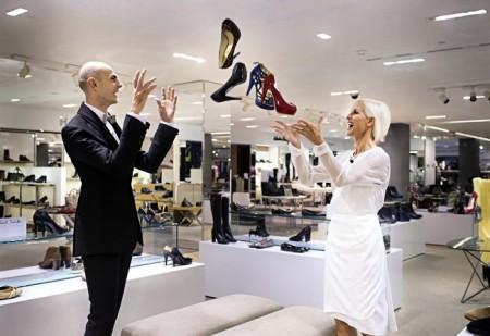 """""""Shopping Night"""" a lezione di shopping con Carla Gozzi e Enzo Miccio"""