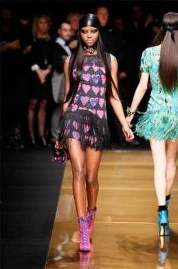 La sfilata della collezione Versace for H&M