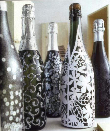 Decorazioni Bottiglie Natalizie.Come Addobbare La Tavola Di Natale Con Bottiglie Decorate A Festa