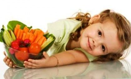 La dieta dei bambini deve essere ricca di fibre
