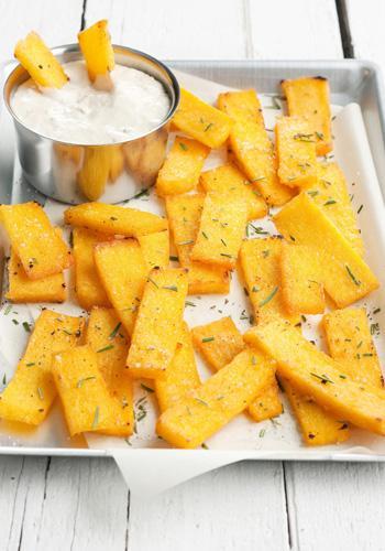Ricette Capodanno: la polenta fritta