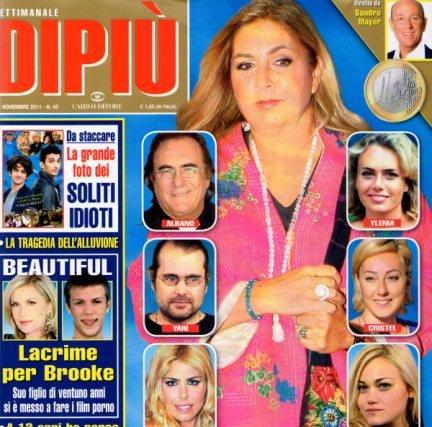 Albano e Romina ai ferri corti: le confessioni shock di Yari Carrisi a Domenica 5
