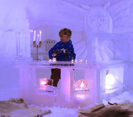 Viaggio romantico per Capodanno 2011 all'hotel di ghiaccio in Norvegia