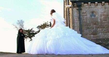 Foto di abiti da sposa gipsy