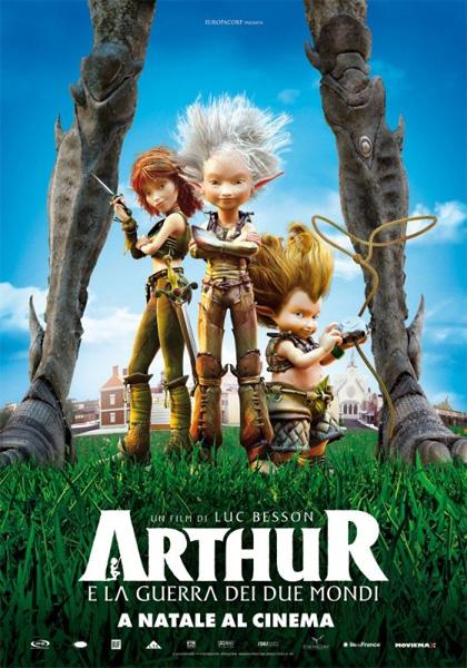 Film natalizi per bambini, Luc Besson presenta 'Arthur e la guerra dei due mondi'