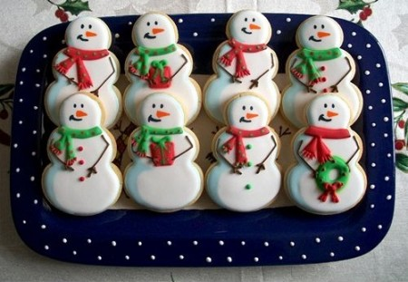 biscotti pupazzi neve.2011