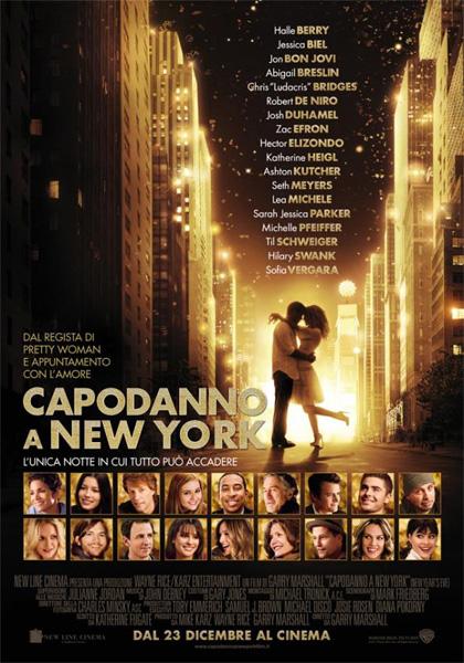 Film natalizi 2011, il cinepanettone di Hollywood: Capodanno a New York