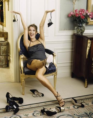 Celine Dion ha una passione sfrenata per le scarpe, ne ha 3000 paia