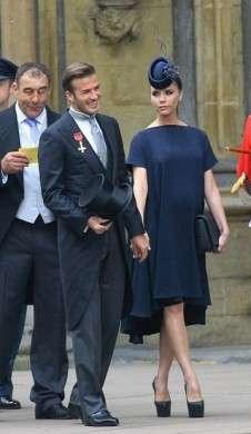 David e Victoria Beckham Royal Wedding