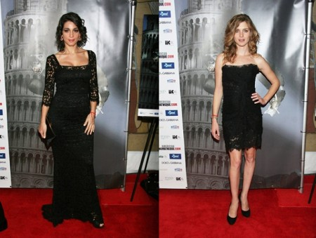 Dolce & Gabbana veste Vittoria Puccini e Donatella Finocchiaro al Cinema Italian Style