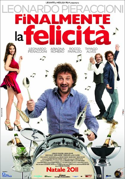 Film natalizi, al cinema Leonardo Pieraccioni con 'Finalmente la felicità'