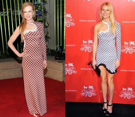 Nicole Kidman e Gwyneth Paltrow scelgono lo stile psichedelico di Stella McCartney