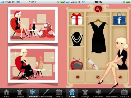 Carla Gozzi dispensa lezioni di stile anche sull'iPhone: arriva iCarla