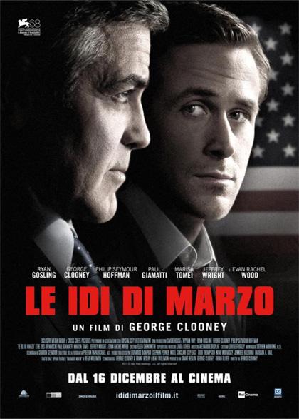 Film natalizi, genere drammatico per George Clooney con 'Le idi di marzo'