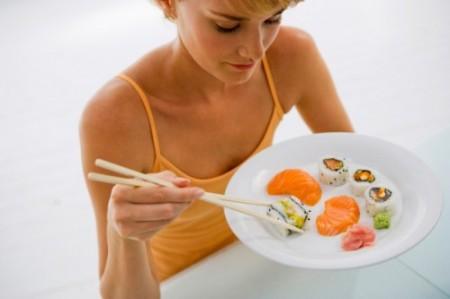 Dieta a base di pesce per combattere l'influenza